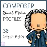 Composer Social Media Profiles