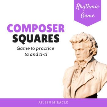 Composer Squares for Rhythm {Ta and Ti-Ti}
