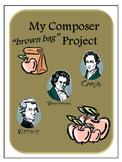 Composer Study Brown Bag Style Apple Theme