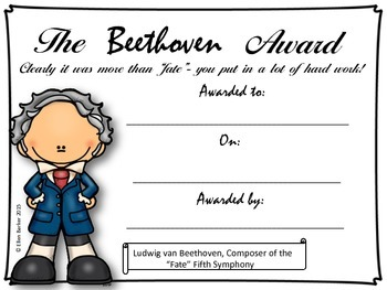 Composer Themed Awards