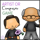 Artist or Composer? Game