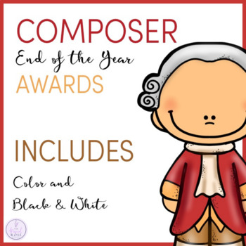 Composer Themed Awards #tptmusiccrewendofyear