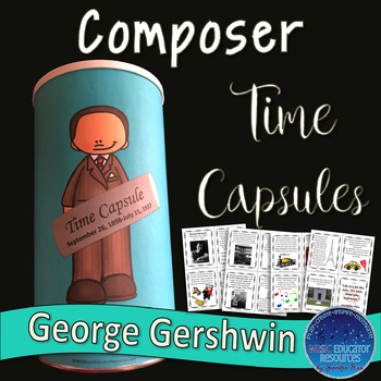 Composer Time Capsule: Gershwin