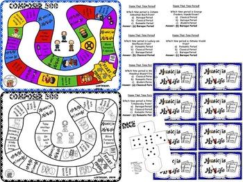 Composer & Time Period Folder Game