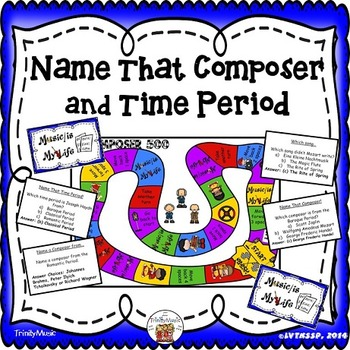 Composer & Time Period Folder Game