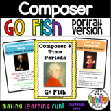 "Composer & Time Period ""Go Fish"" Game (Portrait Version)"