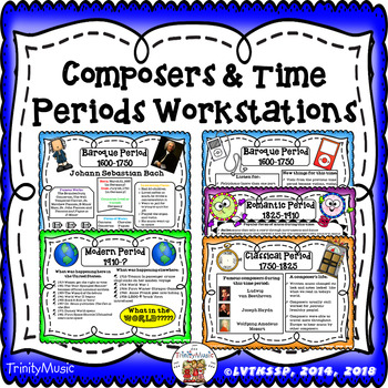 Composer & Time Period Workstations