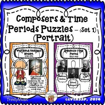 Composer & Time Period (portrait) Puzzles