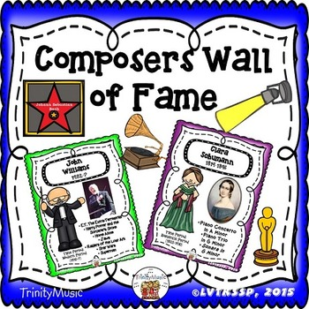 Composer Wall of Fame