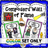 Composer Wall of Fame (Only in Color)