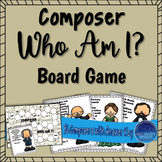 Composer Who Am I? Board Game