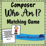 Composer Who Am I? Matching Game