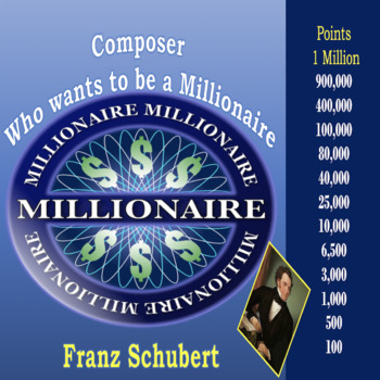 Composer Who Wants to be a Millionaire Schubert Review
