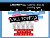 Composer and Music Time Period Wall Posters