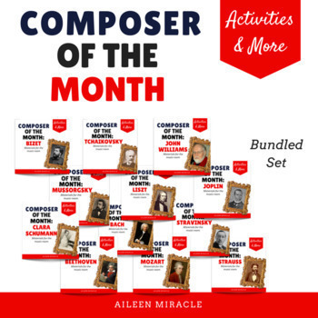 Composer of the Month: Bundled Set