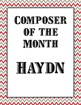 Composer of the Month- Haydn