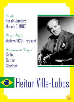 Composer of the Month: Heitor Villa-Lobos
