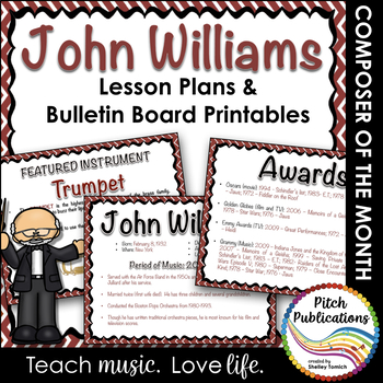 Composer of the Month JOHN WILLIAMS - Detailed Lesson Plan