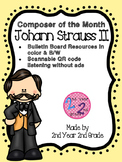 Composer of the Month Johann Strauss II Bulletin Board & Q