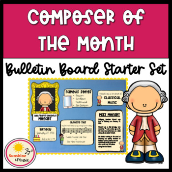 Composer of the Month Kit