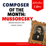 Composer of the Month: Modest Mussorgsky