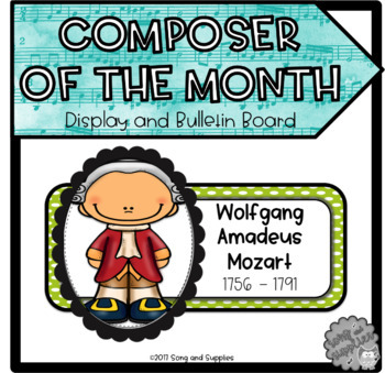 Composer of the Month Posters