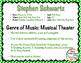 Composer of the Month STEPHEN SCHWARTZ (WICKED) -  Lesson Plans & Bulletin Board