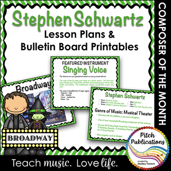 Composer of the Month STEPHEN SCHWARTZ (WICKED) -  Lesson