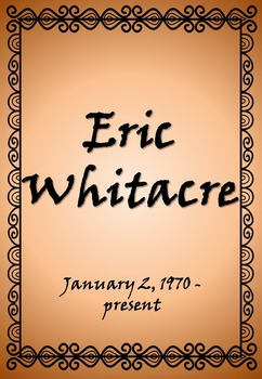 Composer of the Month: Eric Whitacre