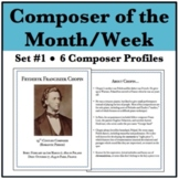Composer of the Week Bundle - Chopin, Mozart, Beethoven, D