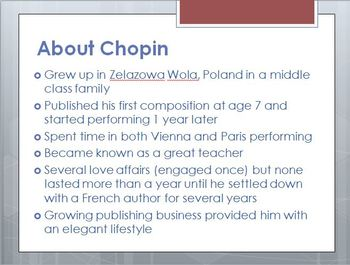Composer of the Week - Chopin Mini Lesson