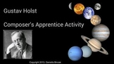 Composer's Apprentice worksheet - Gustav Holst