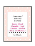 Composers' Specials Bundle ~ Bach Bizet Handel Liszt Rossini Strauss & Beethoven