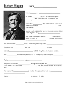 Composers: Wagner