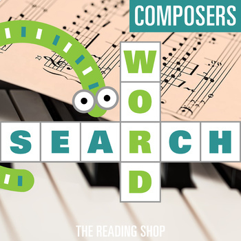 Composers Word Search Puzzle