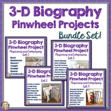 Composers and Musicians, Biography, 3D Pinwheel Project, Bundle Research Project