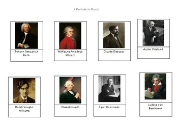 Composers in Music Periods