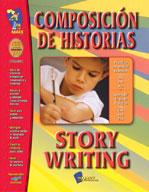 Composicion de Historias/Story Writing (Spanish/English) (Enhanced eBook)
