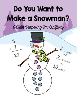 Composing 10 Snowman Craftivity