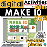Make 10 for Google Slides St Patrick's Day Make 10 Digital
