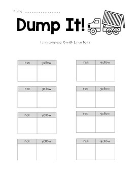 Composing 10 with 2 Numbers Game