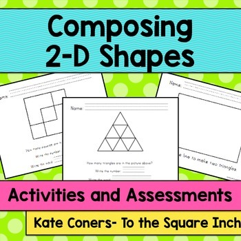 Composing 2-D Shapes Activities