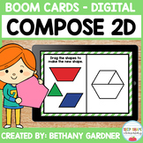 Composing 2D Shapes - Boom Cards - Distance Learning