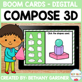Composing 3D Shapes - Boom Cards - Distance Learning