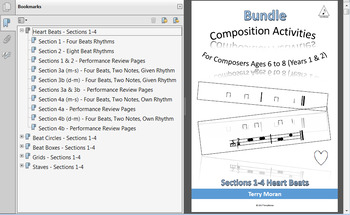 Composing Activities - Bundle - Sections 1-4