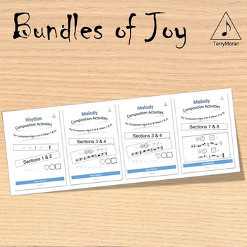 Composing Activities - Bundle - Sections 1-8