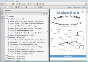 Composing Activities - Bundle - Sections 5-8