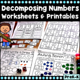 Composing And Decomposing Numbers Worksheets for Numbers 0-10