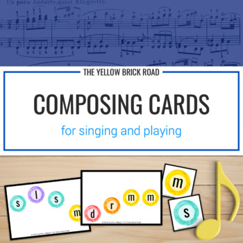 Composing Cards for singing and playing