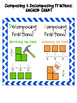 Composing & Decomposing Fractions Mini-Pack!